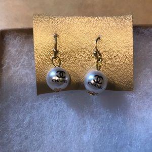 Jewelry - Button Chanel Earrings NWOT